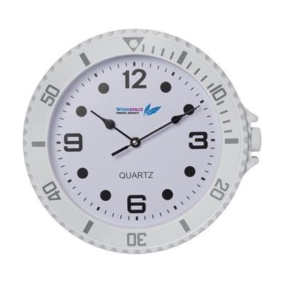 Picture of WATCH-IT WALL CLOCK in White