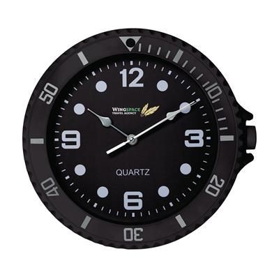 Picture of WATCH-IT WALL CLOCK in Black