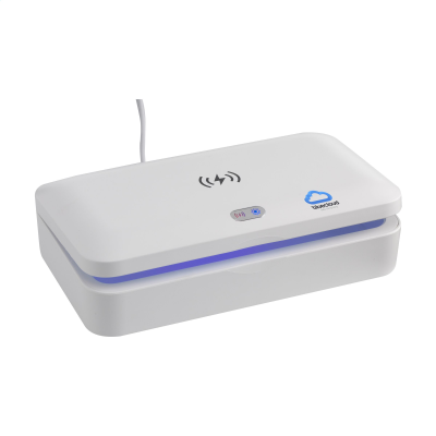 Picture of UV-C STERILIZER BOX with 5W Cordless Charger in White