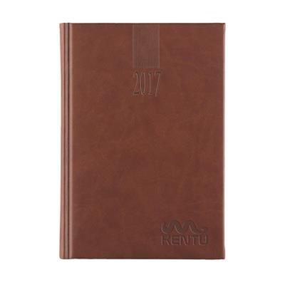 Picture of EUROTOP SABANA CREAM DIARY in Brown
