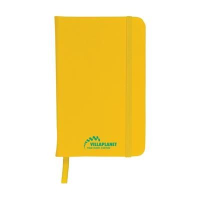 Picture of A6 POCKET NOTE BOOK in Yellow