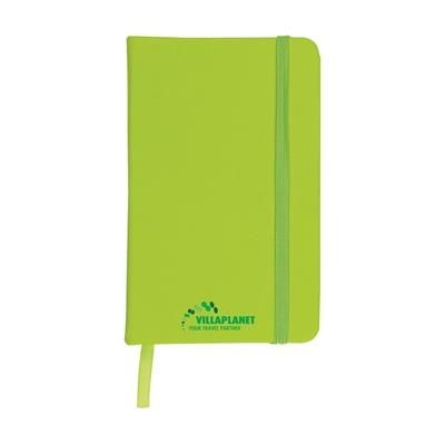Picture of A6 POCKET NOTE BOOK in Lime