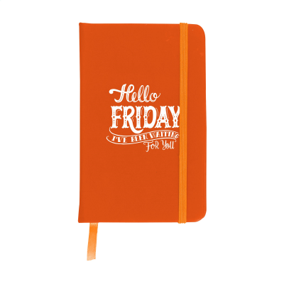 Picture of POCKET NOTE BOOK A6 in Orange