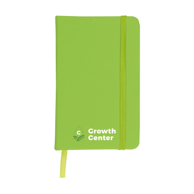 Picture of POCKET NOTE BOOK A6 in Lime