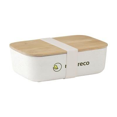 Picture of MIDORI ECO BAMBOO FIBRE LUNCH BOX in Natural