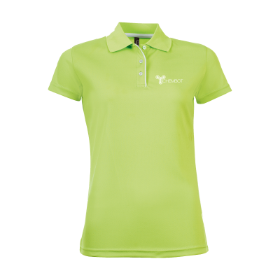 Picture of SOLS CRICKET POLO LADIES in Green