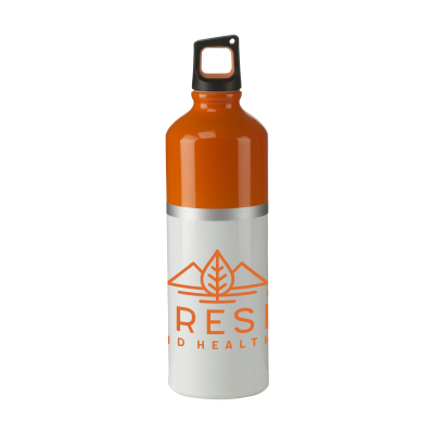 Picture of SILVERLINE WATER BOTTLE in Orange