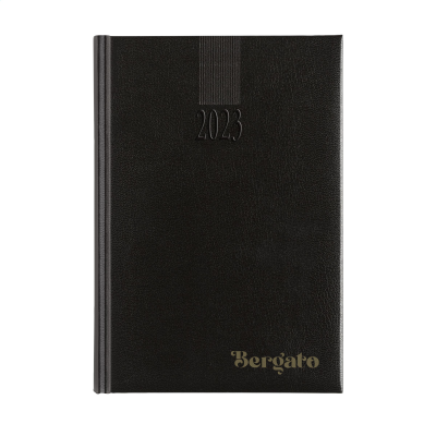 Picture of EURODIRECT DIARY 4 LANGUAGES in Black