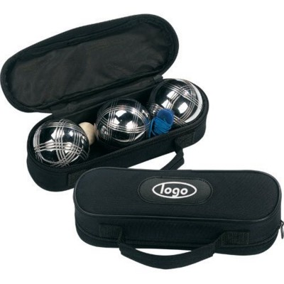 Picture of TRIO BOULES GAME SET in Black