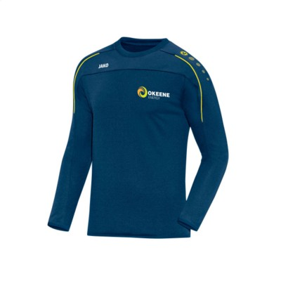 Picture of JAKO® SWEATER CLASSICO CHILDRENS in Blue & Yellow