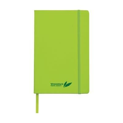 Picture of A5 POCKET NOTE BOOK in Lime