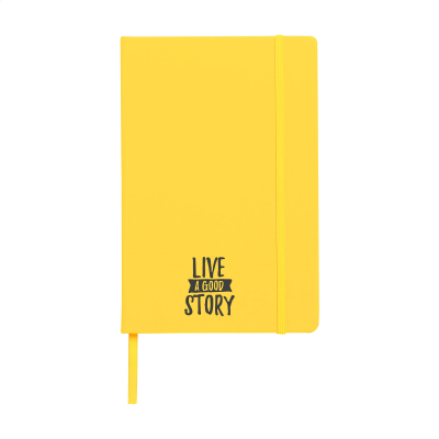 Picture of POCKET NOTE BOOK A5 in Yellow