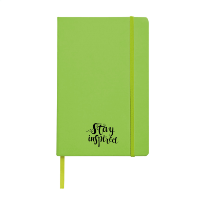 Picture of POCKET NOTE BOOK A5 in Lime