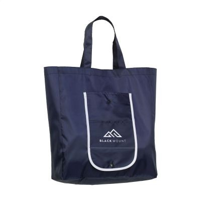 Picture of FOLDY FOLDING SHOPPER TOTE BAG in Blue