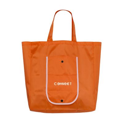Picture of FOLDY FOLDING SHOPPER TOTE BAG in Orange