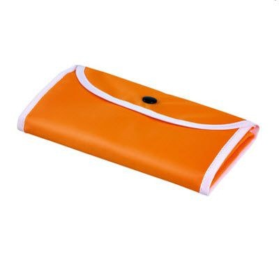 Picture of FOLDING SHOPPER TOTE BAG in Orange