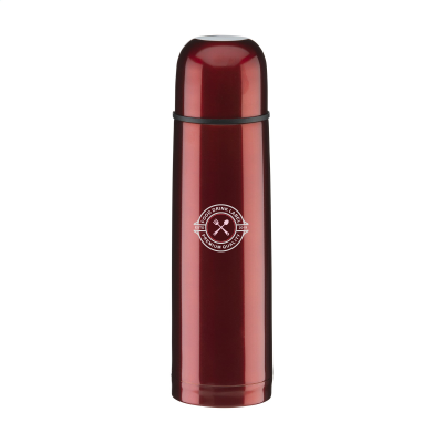 Picture of THERMOCOLOUR THERMO BOTTLE in Metallic Red