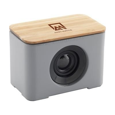 Picture of LIDOS STONE ECO CORDLESS SPEAKER in Bamboo
