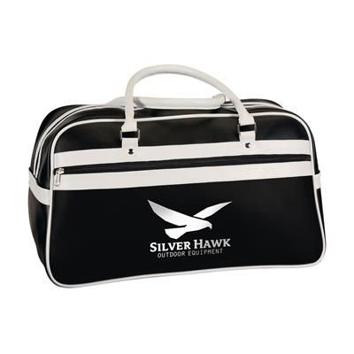 Picture of RETRO SPORTS BAG in Black & White