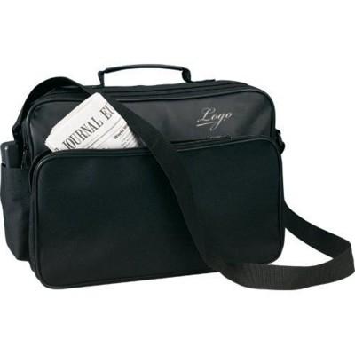 Picture of NEW YORK SHOULDER DOCUMENT BAG in Black