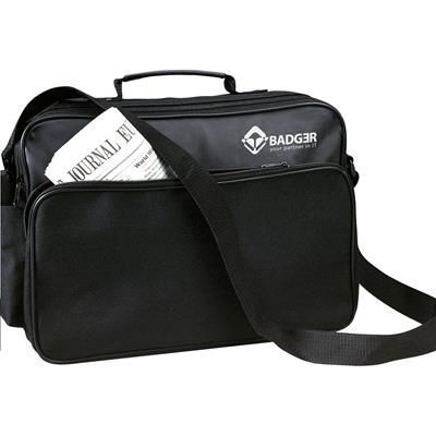 Picture of NEWYORK DOCUMENT BAG in Black