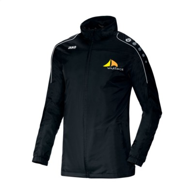 Picture of JAKO® RAINCOAT TEAM MENS in Black