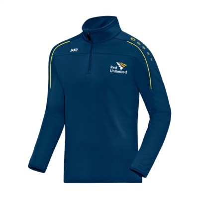 Picture of JAKO® ZIPTOP CLASSICO MENS SWEATER in Navy & Yellow