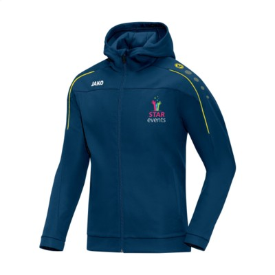 Picture of JAKO® TRAINING JACKET CLASSICO MENS in Navy & Yellow
