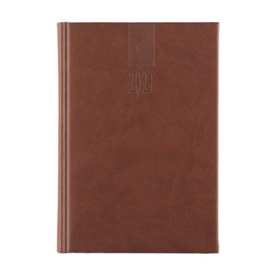 Picture of EUROMAX DIARY 4 LANGUAGES in Brown