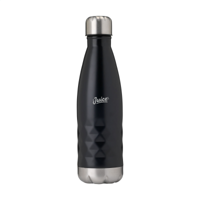 Picture of TOPFLASK GRAPHIC DRINK BOTTLE in Black