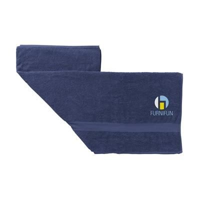 Picture of ATLANTIC BEACH TOWEL in Navy