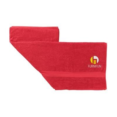 Picture of ATLANTIC BEACH TOWEL in Red