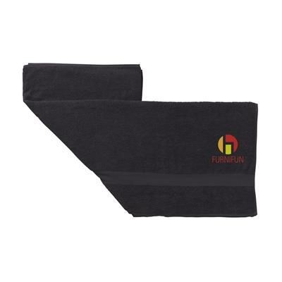 Picture of ATLANTIC BEACH TOWEL in Black