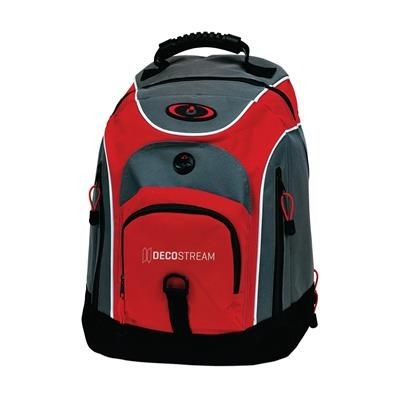 Picture of CITYBAG SPORTS BACKPACK RUCKSACK in Red