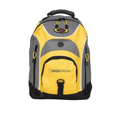 Picture of BACKTRACK BACKPACK RUCKSACK in Yellow
