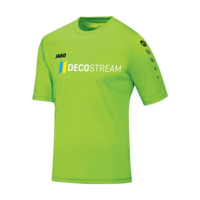 Picture of JAKO® SHIRT TEAM SHORTSLEEVE MENS SPORTSHIRT in Fluorescent Green