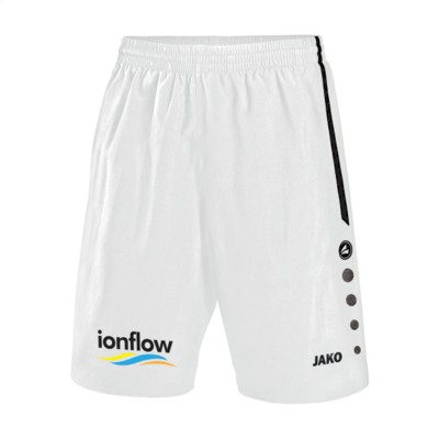 Picture of JAKO® SHORTS TURIN MENS in White & Black