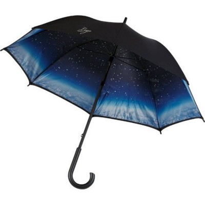 Picture of IMAGE CLOUDY NIGHT UMBRELLA in Black