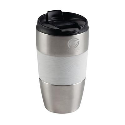 Picture of ROYALCUP THERMO THERMAL INSULATED TRAVEL MUG in White