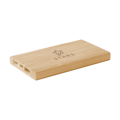 Picture of BAMBOO 4000 POWERBANK EXTERNAL CHARGER in Wood