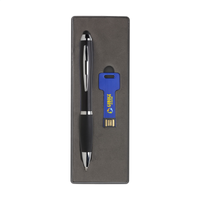 Picture of USB GIFTSET 8GB in Dark Blue