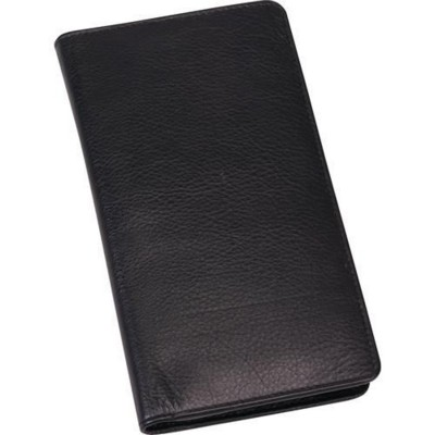 Picture of PRESIDENT LEATHER DIARY WALLET in Black