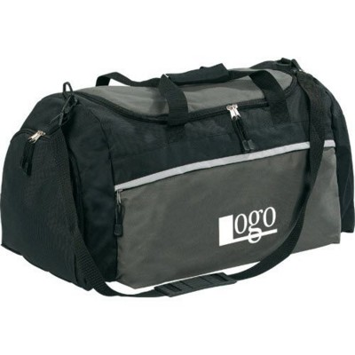 Picture of TOP STARS SPORTS TRAVEL BAG in Black