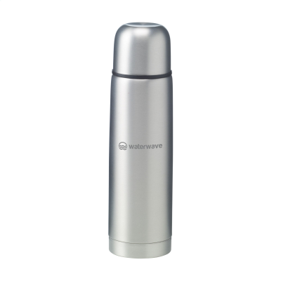 Picture of FROSTEDBOTTLE THERMO BOTTLE in Silver