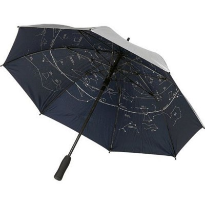 Picture of FIBER STAR AUTOMATIC STORM UMBRELLA in Silver