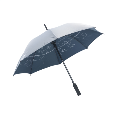 Picture of FIBERSTAR STORM UMBRELLA in Silver
