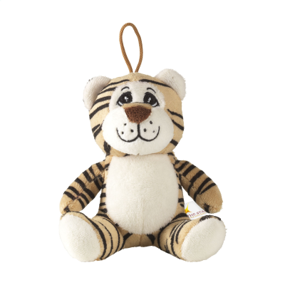 Picture of ANIMAL FRIEND TIGER CUDDLE in Brown
