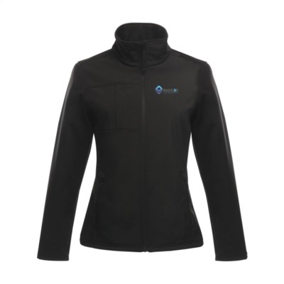 Picture of REGATTA OCTAGON II SOFTSHELL JACKET LADIES in Black