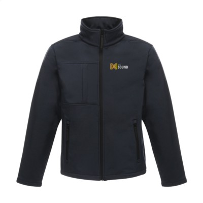 Picture of REGATTA OCTAGON II SOFTSHELL JACKET MENS in Navy