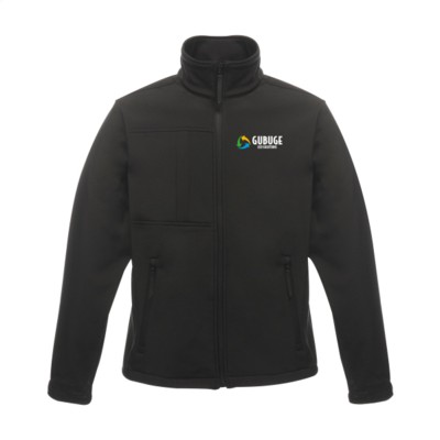 Picture of REGATTA OCTAGON II SOFTSHELL JACKET MENS in Black